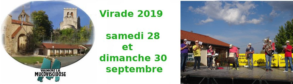 samedi 28 et dimanche 29/09/2019 virade d'Ecotay