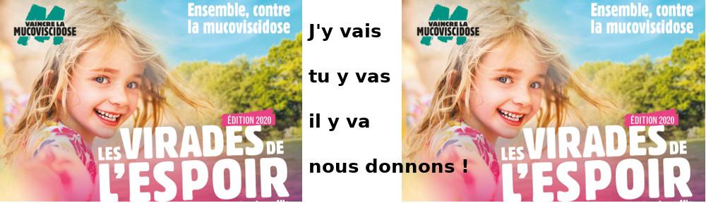samedi 26/09/2020 à Champdieu  dimanche 27 à Ecotay  Virade de l'espoir